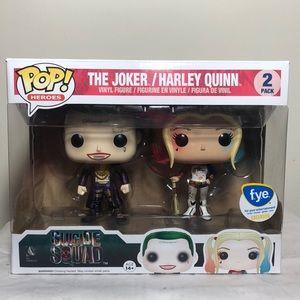 Funko POP! Suicide Squad Joker & Harley Quinn